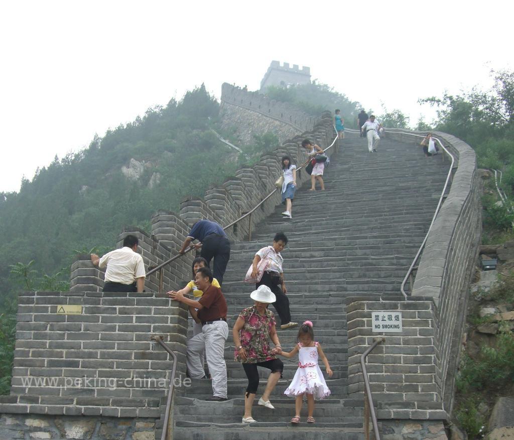 Karte China Mauer.Die Große Chinesische Mauer